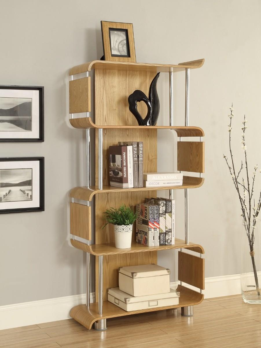 Product photograph showing Corsair Oak Bookcase