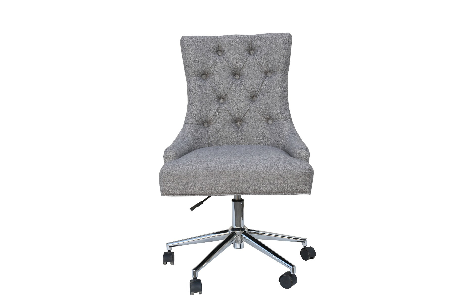 Elijah Grey Button Back Office Chair