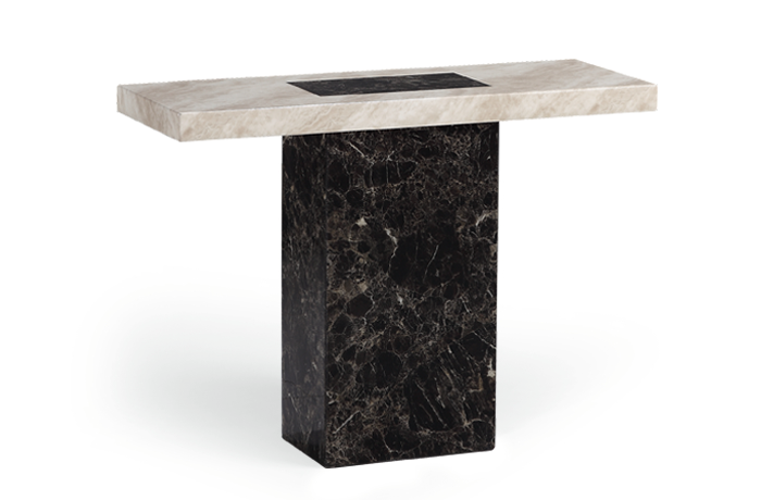 An image of Barletta Marble Console Table