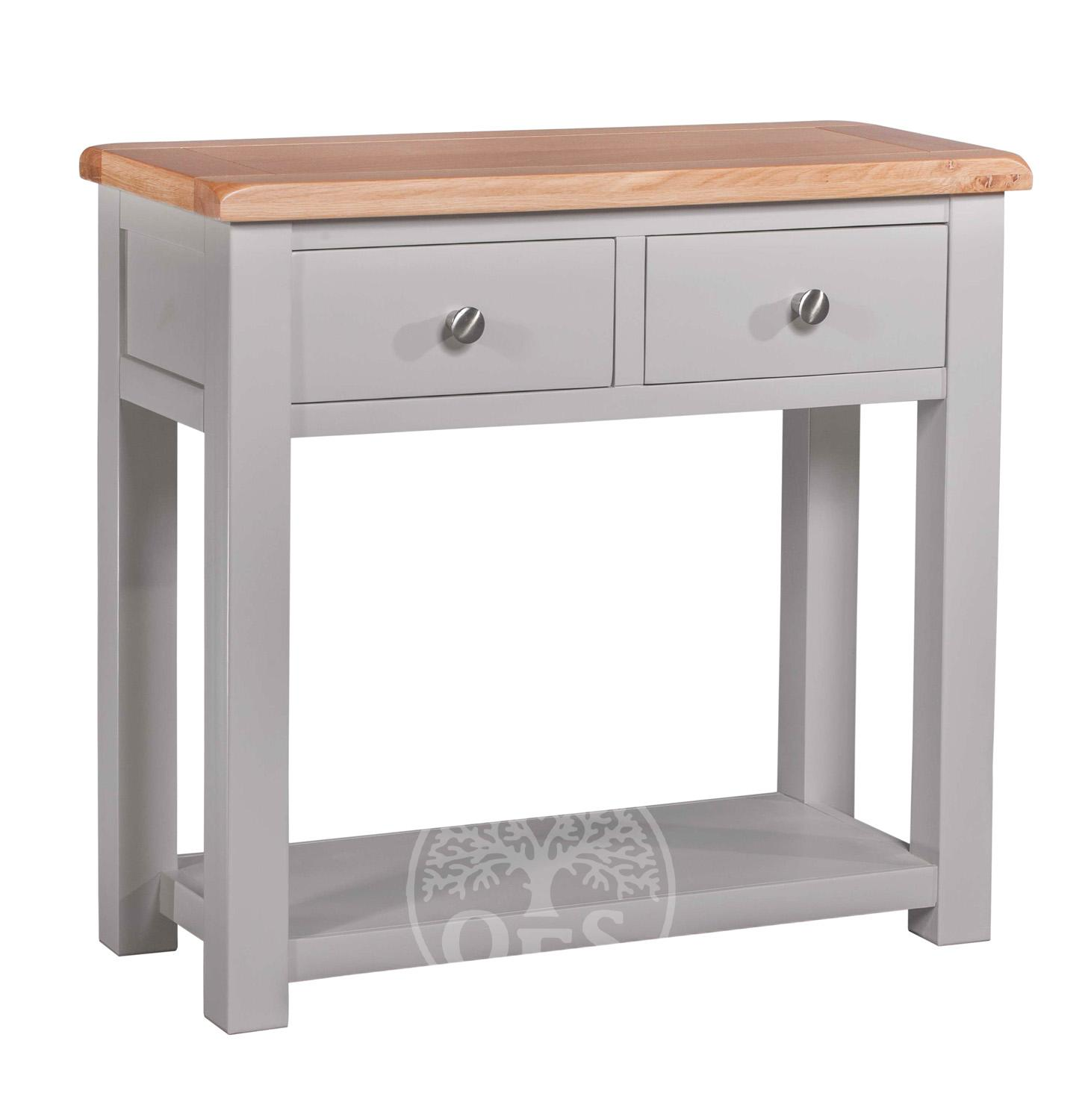 An image of Devonshire Diamond Painted Console Table