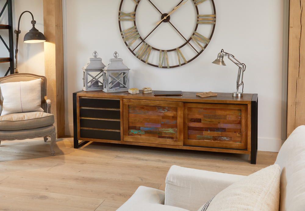 Downtown Modern Ultra Large Sideboard
