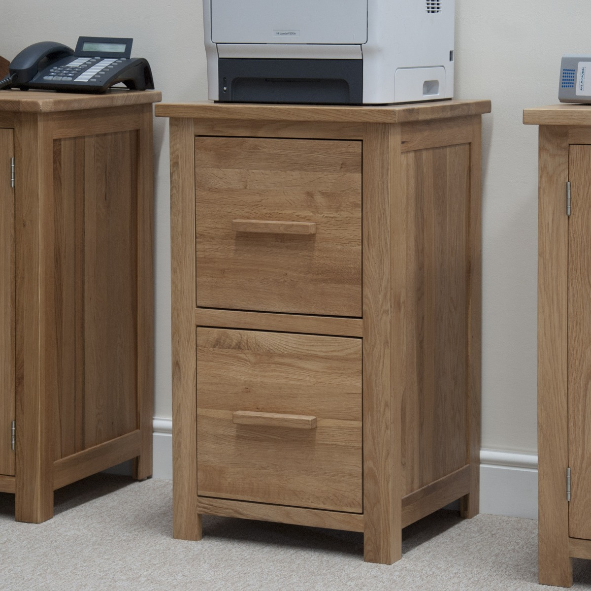 Product photograph showing Rohan Filing Cabinet