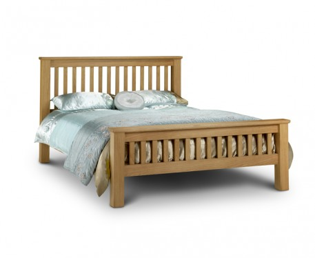 Product photograph showing Haven Bed Frame - Double King Or Super King Size