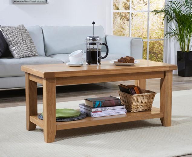 An image of Yateley Oak Coffee Table