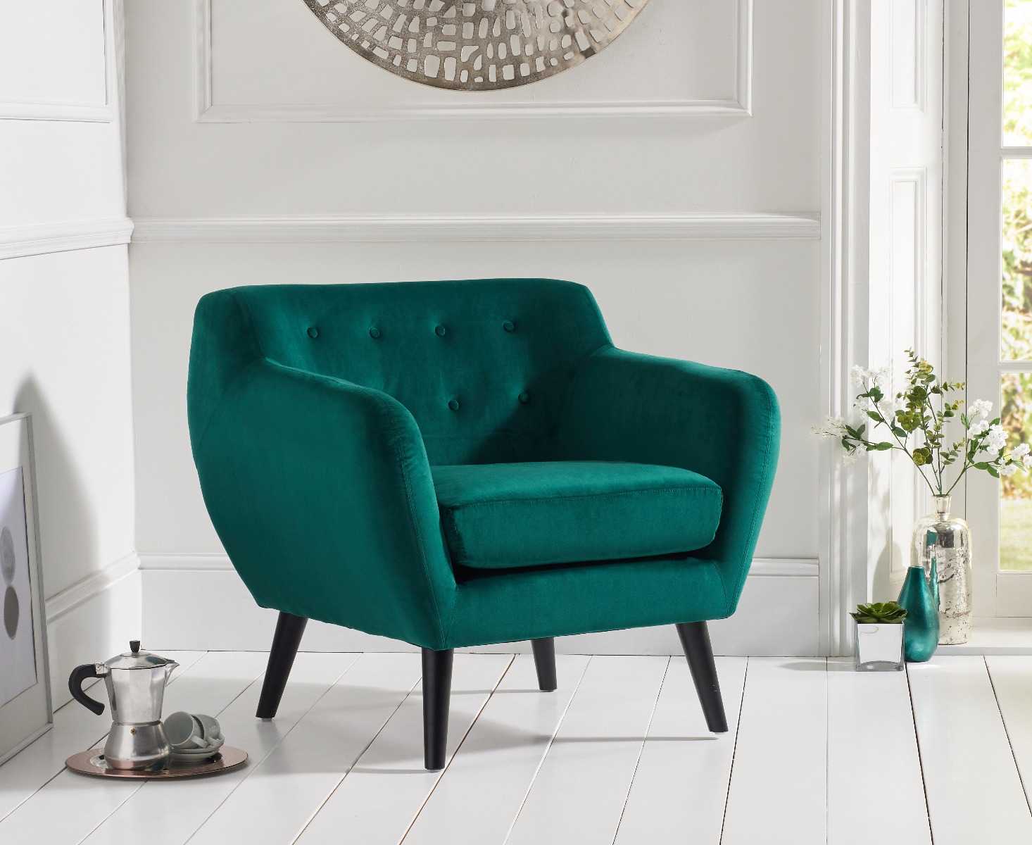 Super Tim Green Velvet Accent Chair Pdpeps Interior Chair Design Pdpepsorg