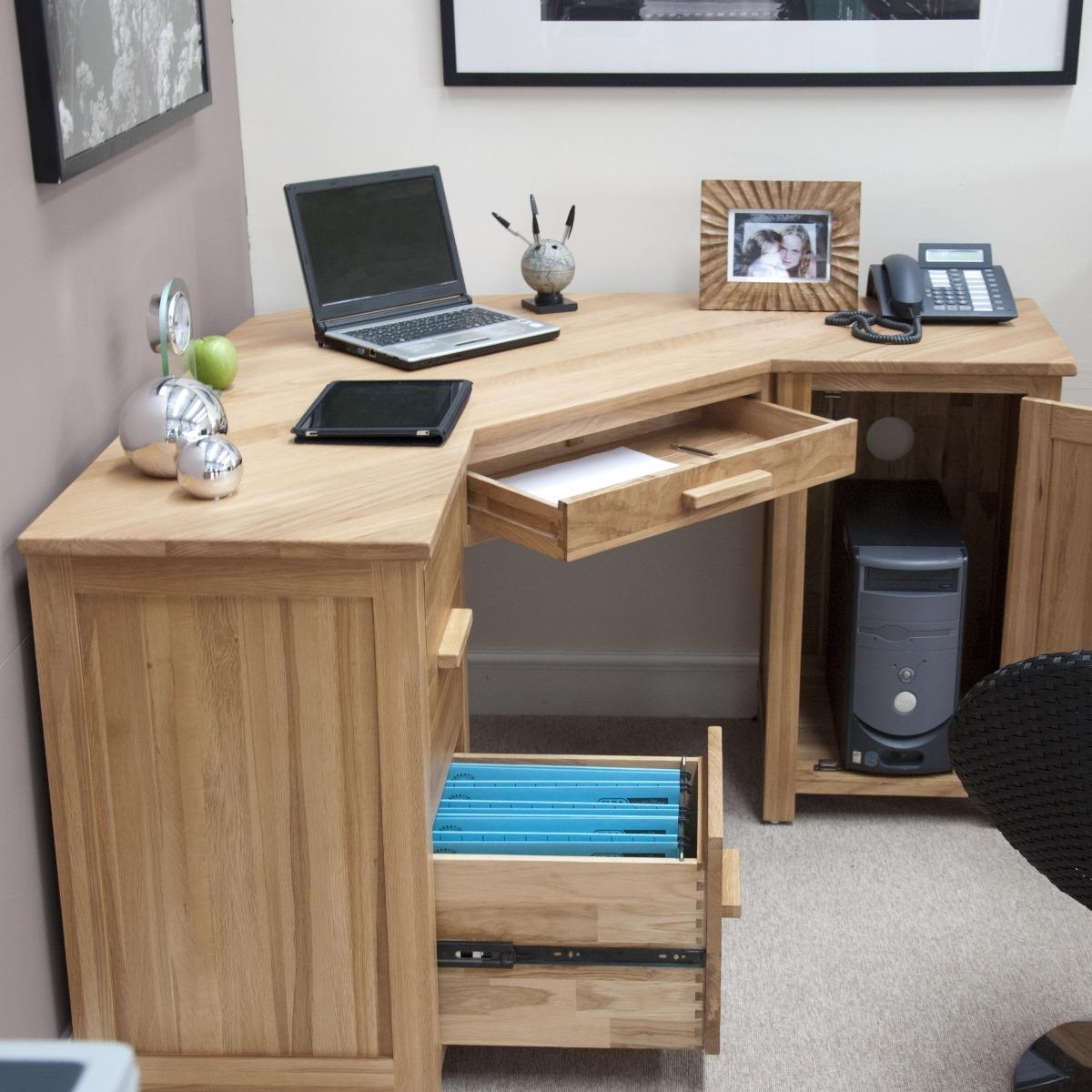Rohan Corner Computer Desk, Images Of Corner Computer Desks
