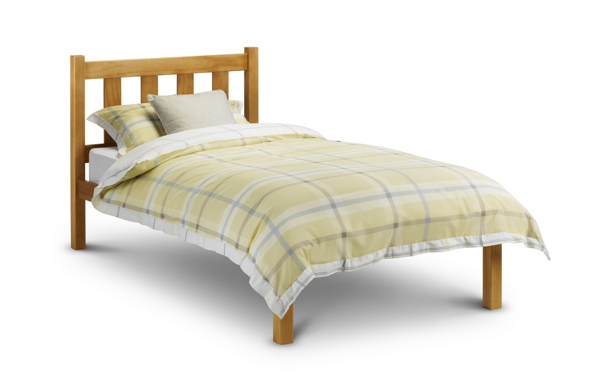 Poppy Solid Pine Bed Frame – Single or Double